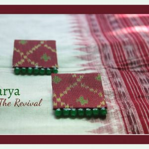 Varya- Original Patola Earrings